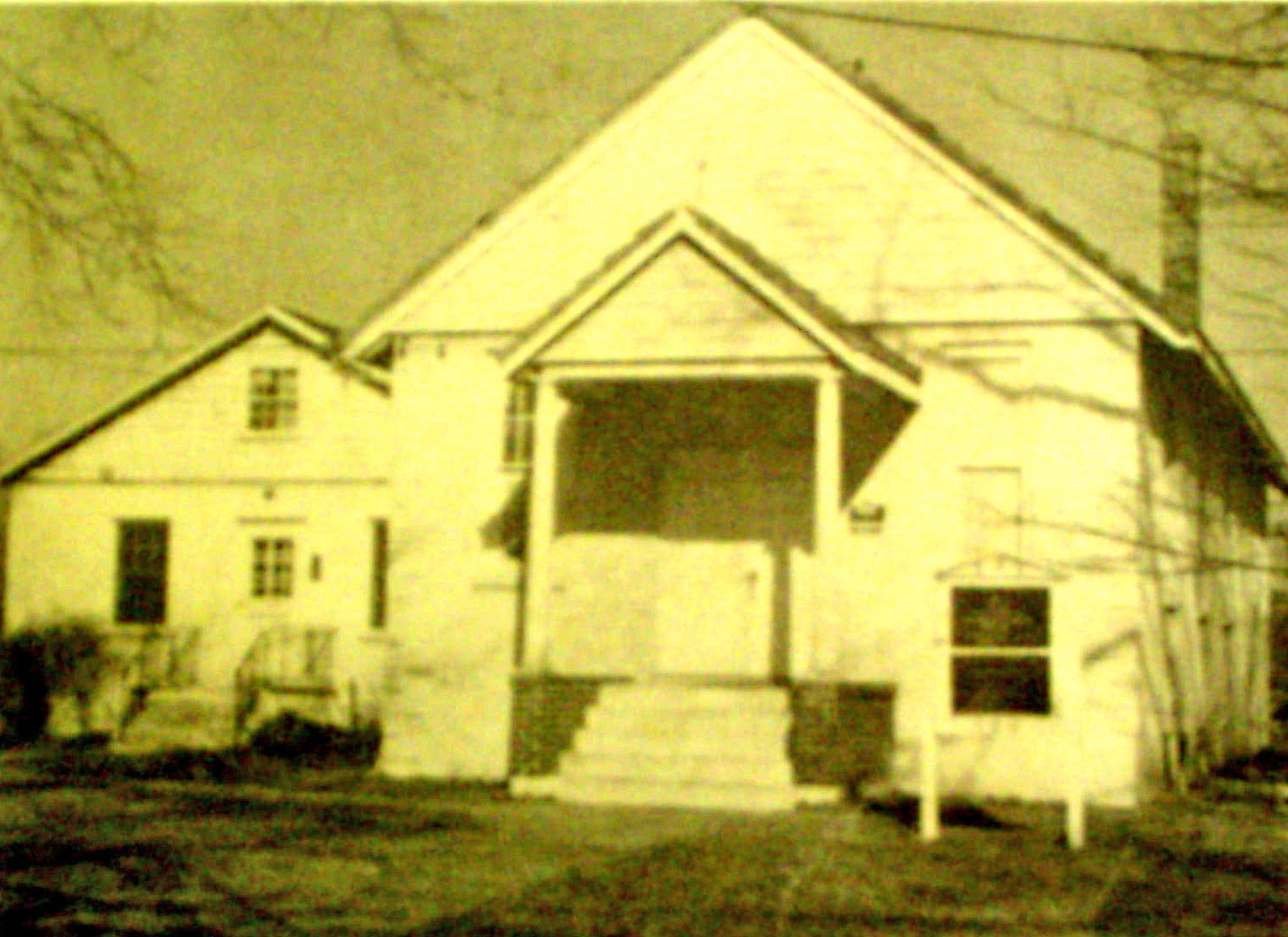 1-*SECOND BAPTIST CHURCH 1st. SITE OF CHURCH (1913) METUCHEN, NEW JERSEY (c. SECOND BAPTIST CHURCH) copy