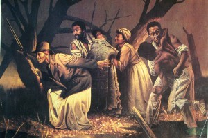 15f-HARRIET-TUDMAN-WITH-A-GROUP-OF-RUNAWAY-SLAVES-DURING-SLAVERY-SEEKING-FREEDOM-c.-CHARLES-BLOCKSON-COLLECTION-300x200