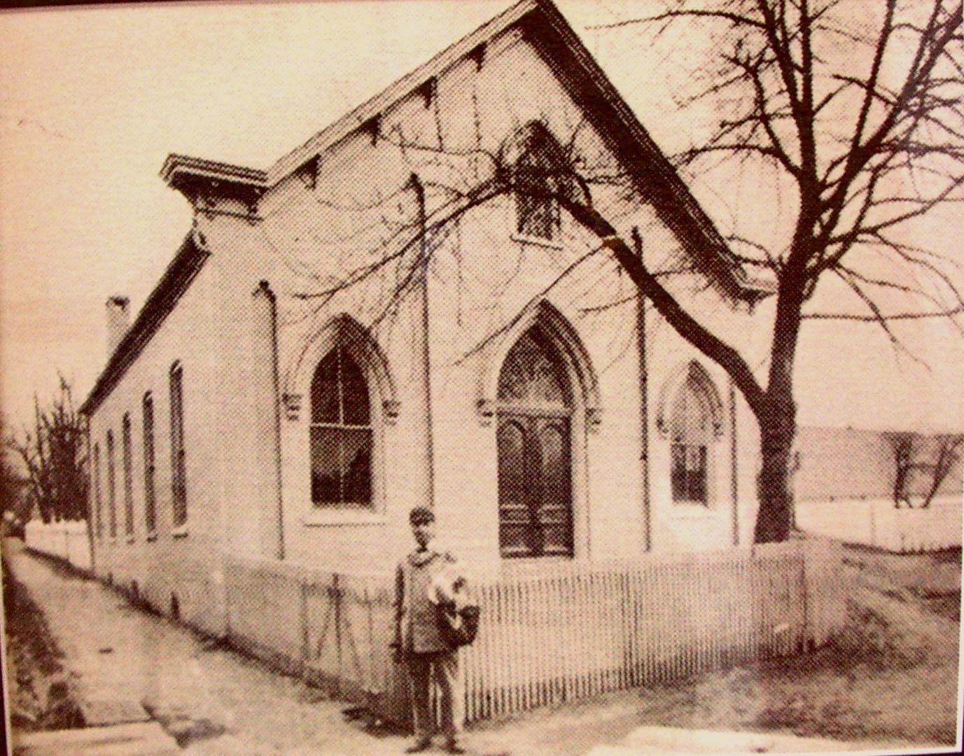 7-*BETHEL AFRICAN METHODIST CHURCH (1817) LANCASTER, PENNSYLVANIA (c. BETHEL AFRICAN METHODIST CHURCH)