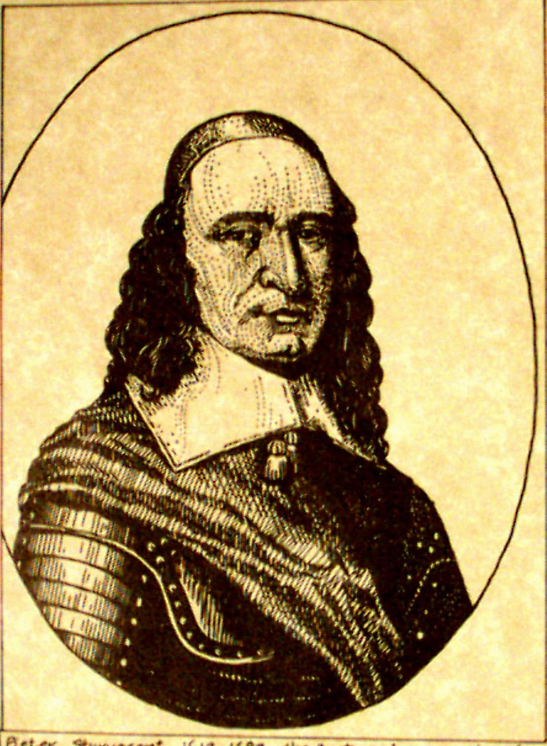 37-PIETER STUYVESANT (1612-1682) OF NEW YORK (c. LAWRENCE E. WALKER FOUNDATION)