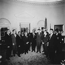 220px-JFK_meets_with_leaders_of_March_on_Washington_8-28-63