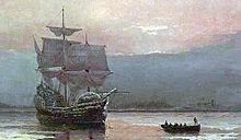 220px-MayflowerHarbor