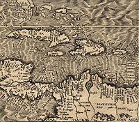 200px-1562_Americae-Gutierrez_map_10hrs-inn_Sth-Florida-Cuba-Spagnola-Benezuela-to-Lesser-Antilles
