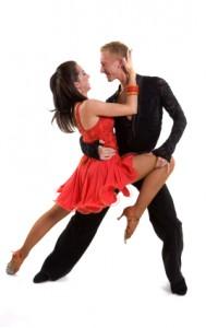 Ballroom Dancers Latin 08
