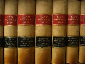 circa. 1876-1877 Antique Law Books
