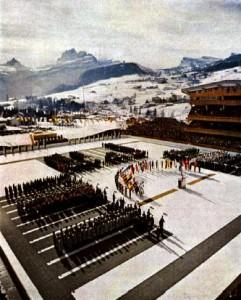1956_Winter_Olympics_opening_ceremonies