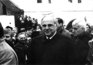 Helmut Kohl in Krzyzowa (Polen)