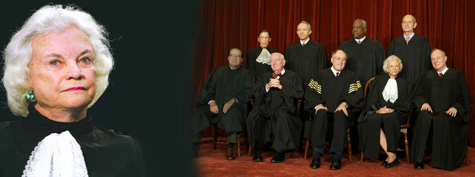 Supreme Court Justices Sandra Day O Connor
