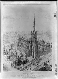 205px-Trinity_Church_Bird's_Eye_View_New_York_City_1846