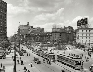 Pictures of American Cities in the Early 20th Century (1)