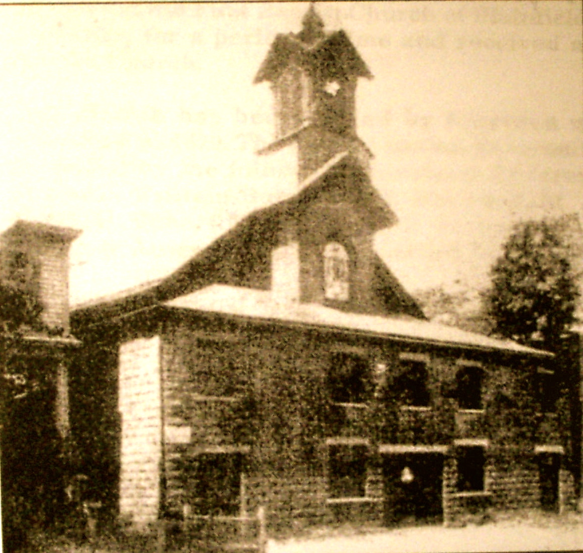 42-*MOUNT OLIVE BAPTIST CHURCH (1870) OLD CHURCH PLAINFIELD, NEW JERSEY (c. MOUNT OLIVE BAPTIST CHURCH) copy