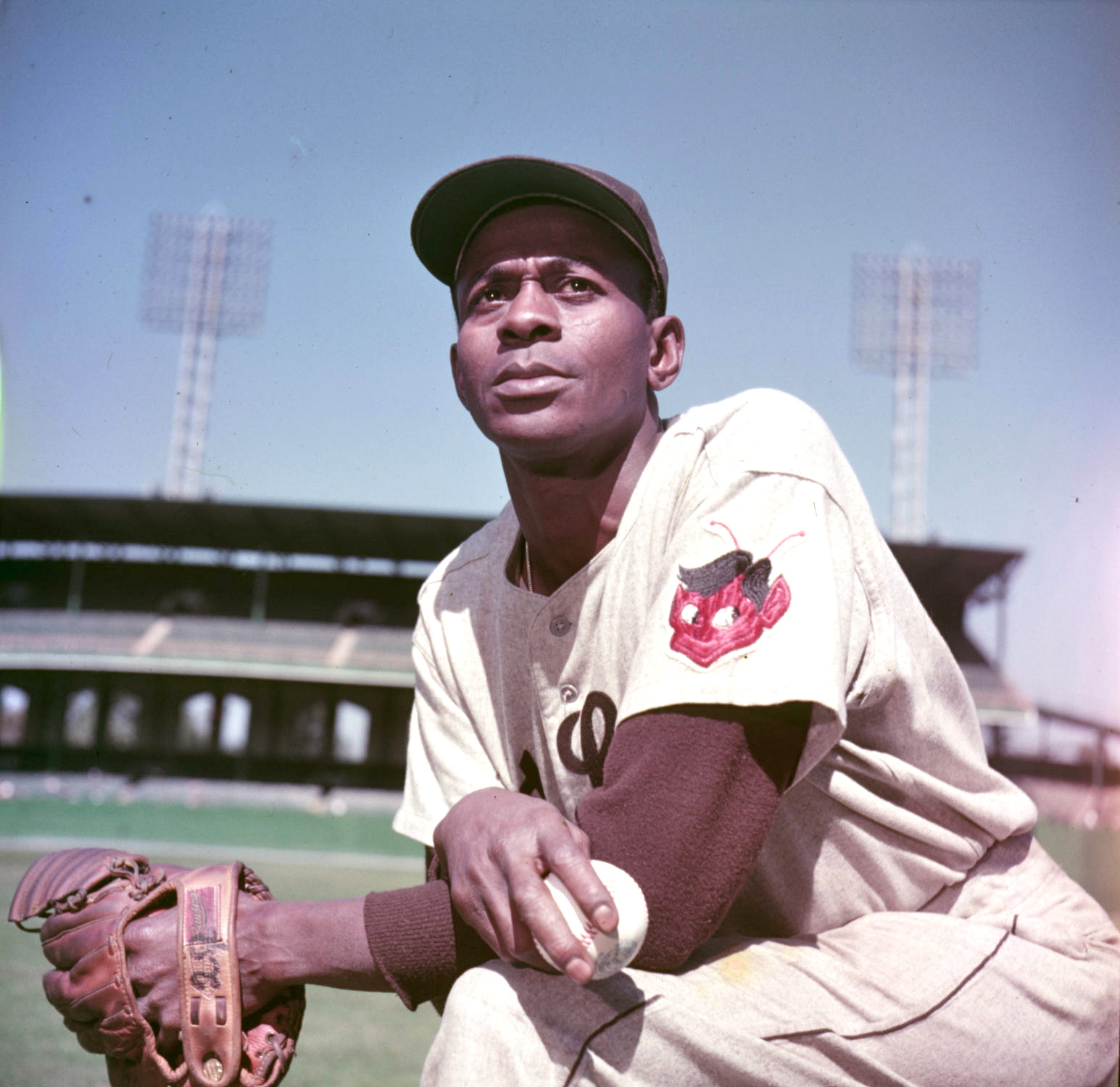 Satchel Paige of the St. Louis Browns, October 1, 1952.