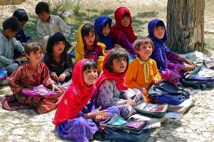 800px-Schoolgirls_in_Bamozai-300x199