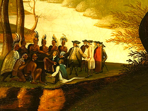 Native American- European Contact in Colonial Times