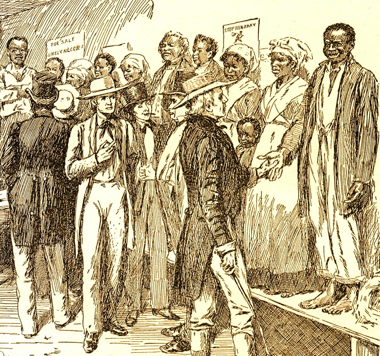 slave-traders-dealers-slave-auction-new-orleans