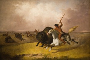 'Buffalo_Hunt_on_the_Southwestern_Prairies',_oil_on_canvas_painting_by_John_Mix_Stanley,_1845,_Smithsonian_American_Art_Museum_(Washington_D._C.)
