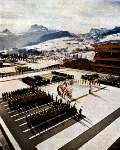 1956_Winter_Olympics_opening_ceremonies