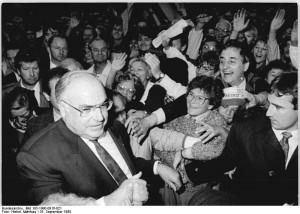 Dresden, CDU-Wahlveranstaltung, Helmut Kohl