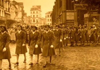 Members of the 6888th Central Postal Directory Battalion