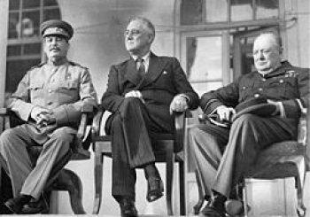 Nov. 28 – In 1943, President Roosevelt, British Prime Minister Winston Churchill and Soviet leader Josef Stalin met in Tehran during World War II…