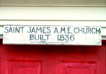 St. James African Methodist Episcopal Church Woodsville Section Mamalapan, NJ