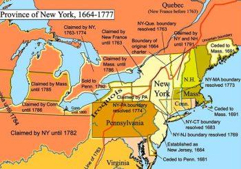 Canada/New York Boundary History