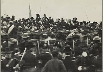 Nov. 19 – In 1863, President Lincoln delivered the Gettysburg Address as he dedicated a national cemetery at the site of the Civil War battlefield in Pennsylvania.