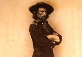 Major General George A. Custer, before Custer's Last Stand…