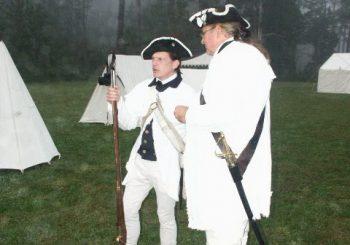Rhode Island Soldies Getting Ready For War