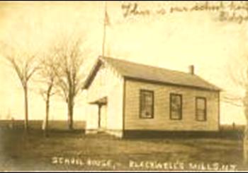 Schoolhouse: Blackwell Mills Schoolhouse Blackwell