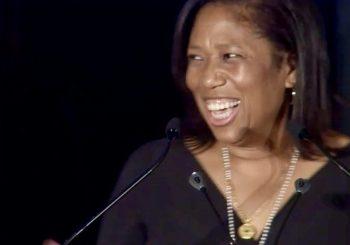 Columbia's CEO Kim Lew Accepts Lifetime Achievement Award by Julie Segal