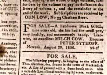 Trenton Newsapaper, New Jersey December 15, 1811