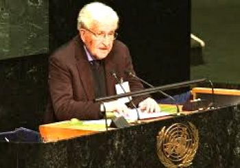 Noam Chomsky at United Nations