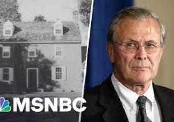 Donald Rumsfeld made 'Mount Misery' his getaway home by Rachel Maddow