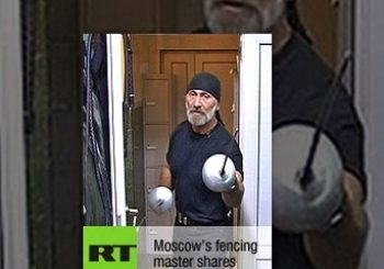 Moscow's fencing master shares knowledge