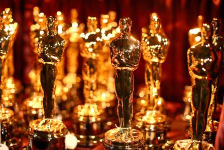 HOLLYWOOD, CA - FEBRUARY 22: A general view of Oscar Statuettes backstage during the 87th Annual Academy Awards at Dolby Theatre on February 22, 2015 in Hollywood, California. (Photo by Christopher Polk/Getty Images)